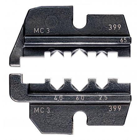 Lisovací profil pro solární konektory MC 3 (Multi-Contact)