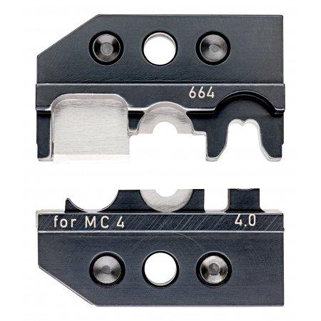 Lisovací profil pro solární konektory MC 4 (Multi-Contact), řezání – odizolování – krimpování