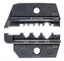Lisovací profil pro solární konektor gesis® solar PST 40 (Wieland)