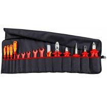 Svinovací taška s nářadím 15-dílná 1000V Knipex