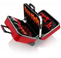 """Kufr s nářadím """"BIG Twin Move RED"""" Knipex pro profesionální elektrikáře"""