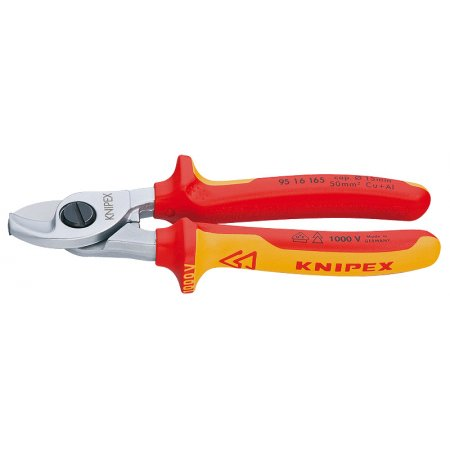 Nůžky na kabely izolované 1000V VDE, Knipex