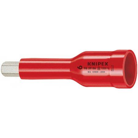 """Nasazovací nástrčný klíč 3/8"""" izolovaný 1000V, Knipex"""