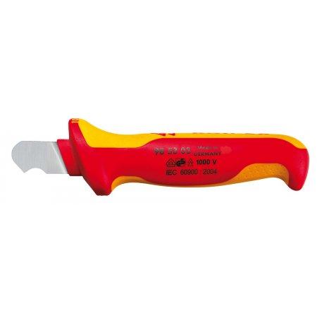 Nůž na pláště izolovaný 1000V VDE, Knipex