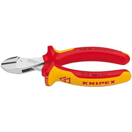 Kleště štípací kompaktní X-Cut® izolované 1000V VDE, Knipex