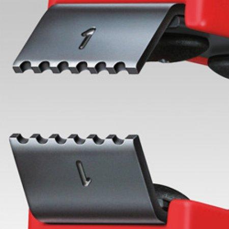 Nože náhradní pro pinzetu na odstraňování laku, Knipex